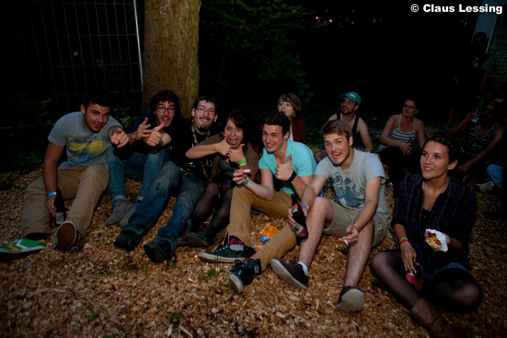 die party crowd :-)